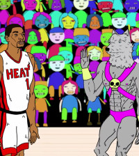 Chris Bosh Gets His Own Space Jam in The Multiverse