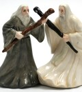 Gandalf and Saruman Salt & Pepper Set