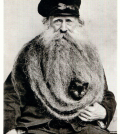 the original Cat Bearding cat beard!