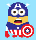 Despicable Me 2 Captain America Minion