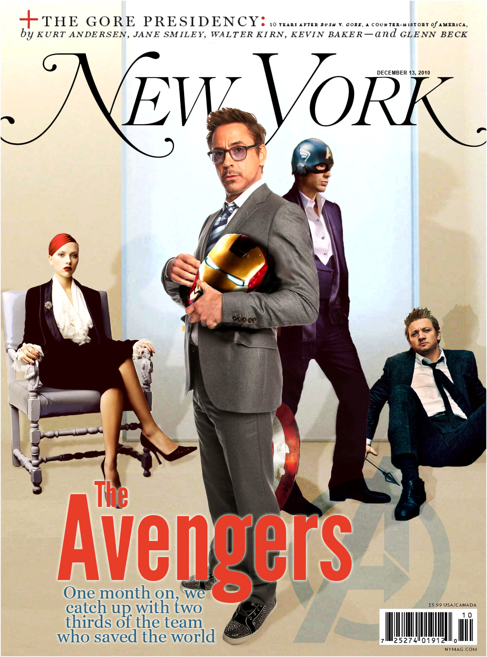 If The Avengers Were Real This Is What Magazines Would