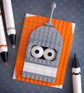 LEGO Bender from Futurama