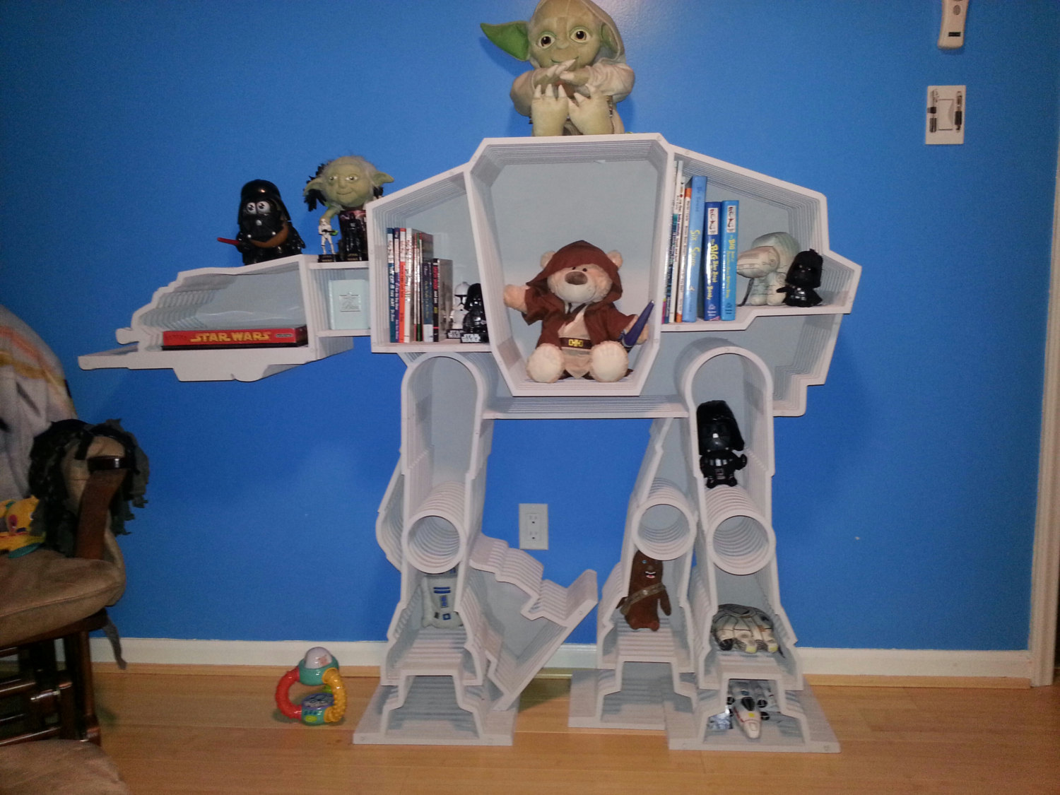 Shut Up And Take My Money Star Wars At At Imperial Bookcase