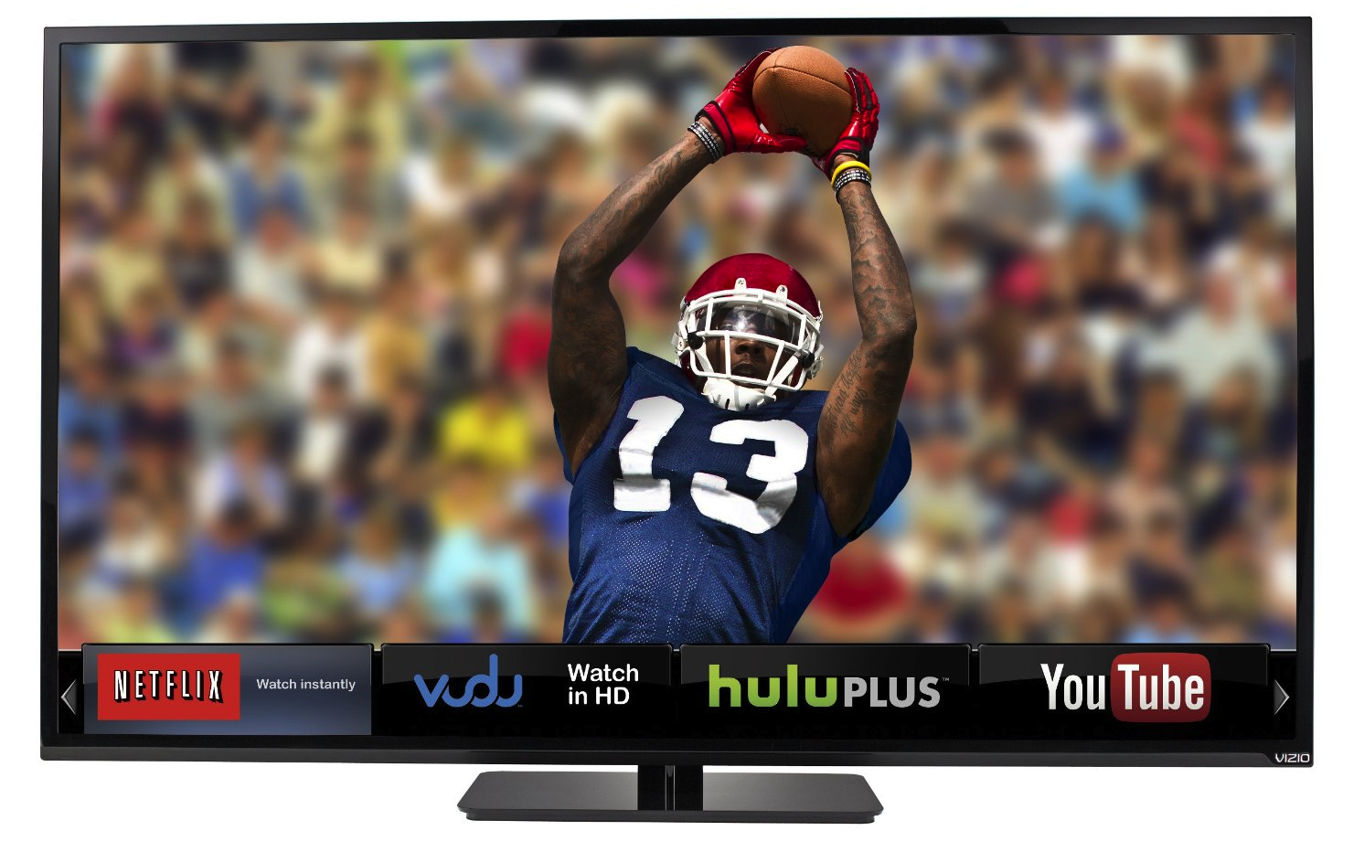 Image result for hdtv with football on screen pics