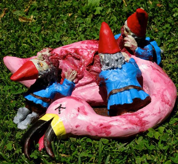 Proper Gnomenclature Misfit Garden Gnomes