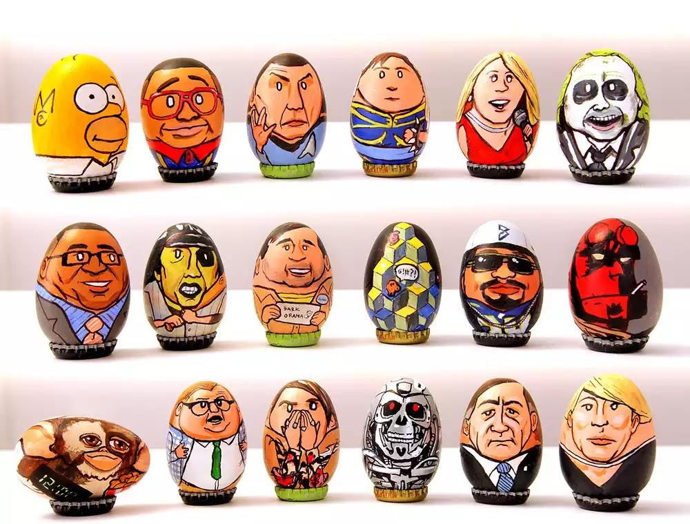 Homer Simpson, Urkel, Spock, Beetlejuice, Hellboy, Gizmo, T-1000, Stephan