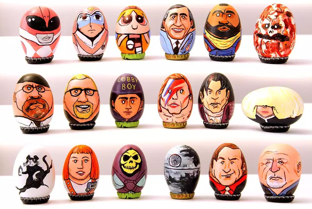 200 Superbly Decorated Pop Culture Easter Eggs