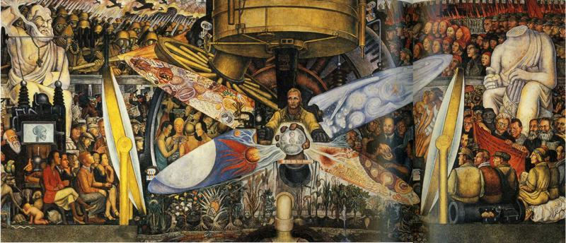 Sense8 about the wachowskis and the conceit of plot for Diego rivera rockefeller mural