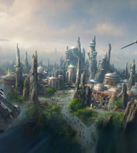 Star Wars Lands Disney World Disneyland