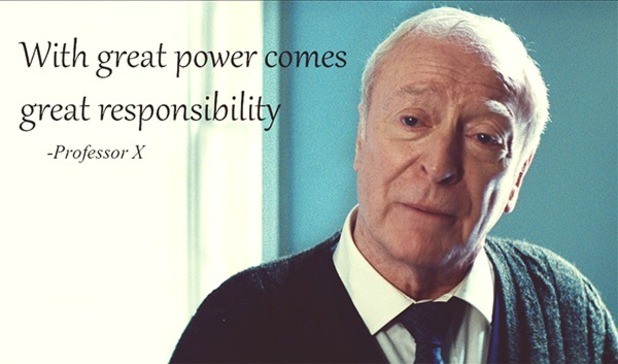 michael-caine-professor-x-spider-man
