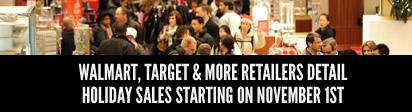 Walmart, Target & more stores detail holiday sales starting Nov. 1