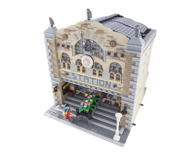 Lego Modular Train Station