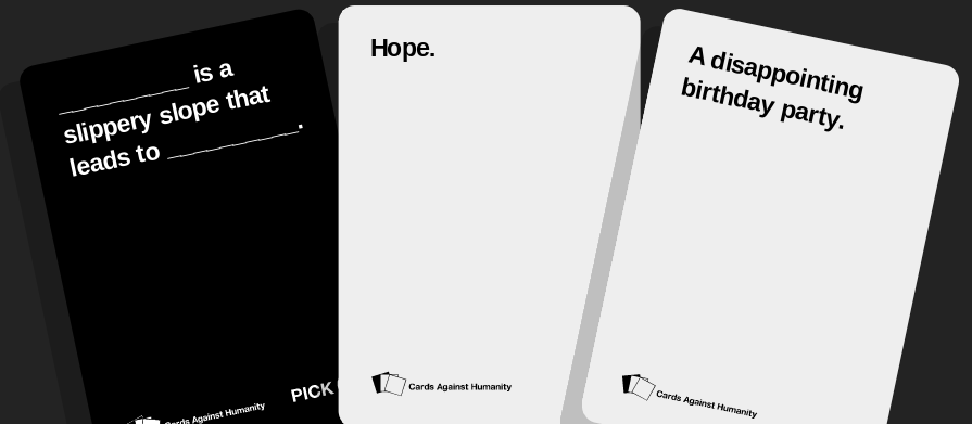 Shut Up and Take My Money: Cards Against Humanity Complete Set and ...