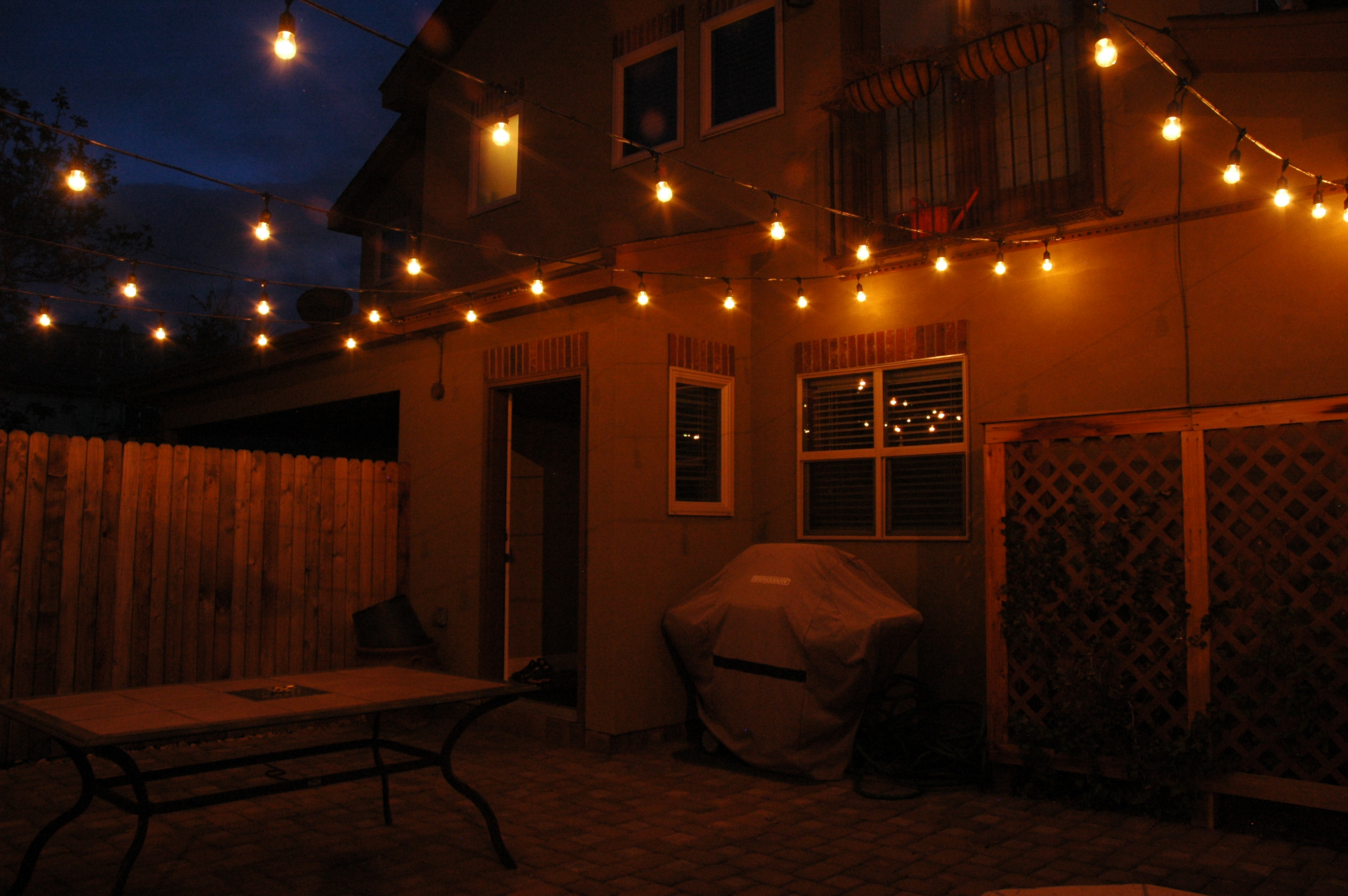 24 perfect outdoor string lights that last Outdoor string lighting