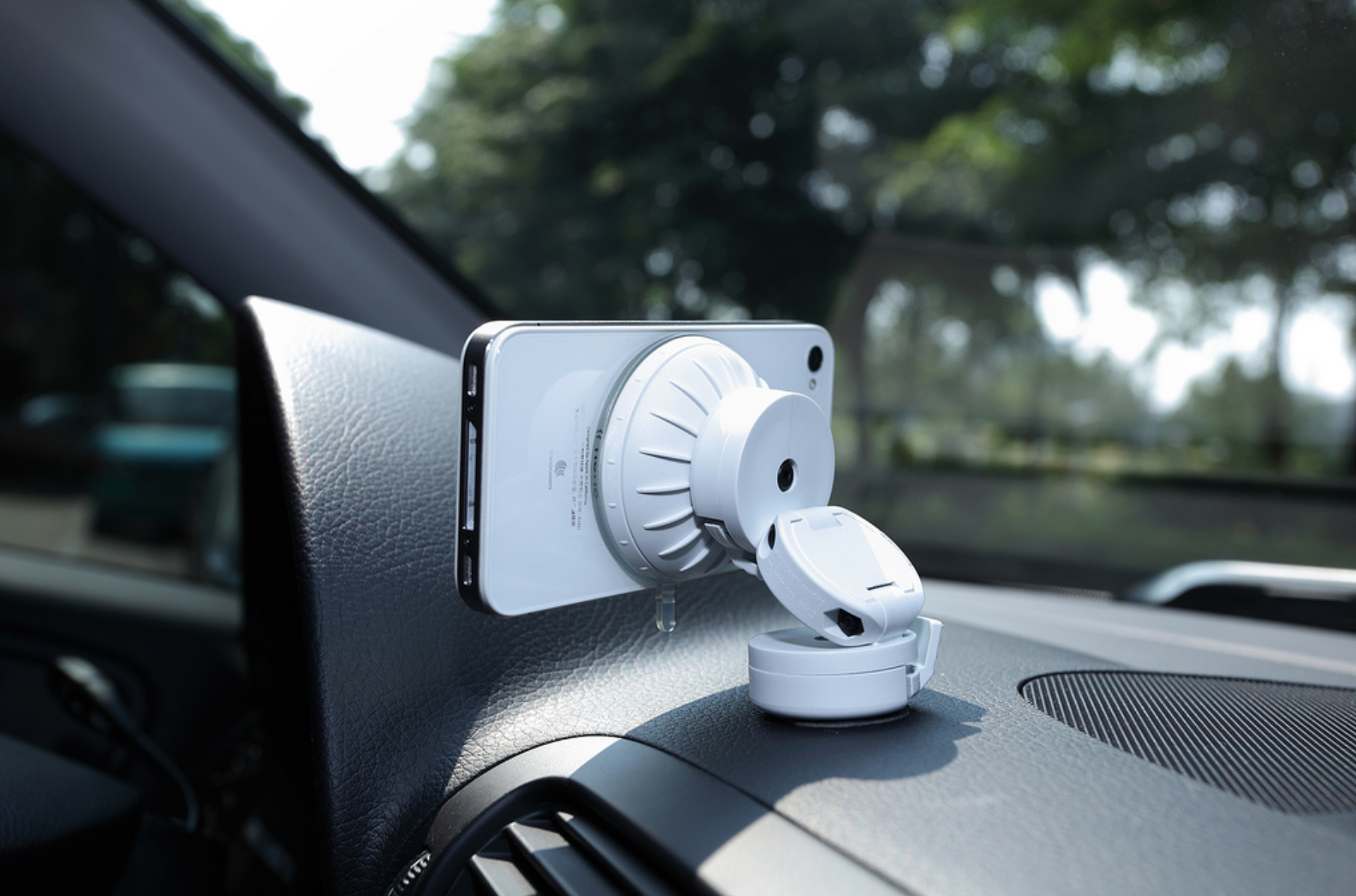 Car mount phone