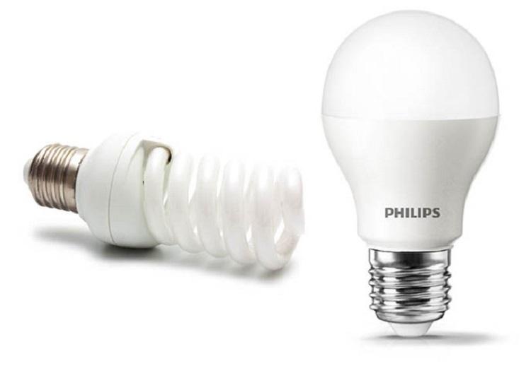 CFL vs LED bulbs