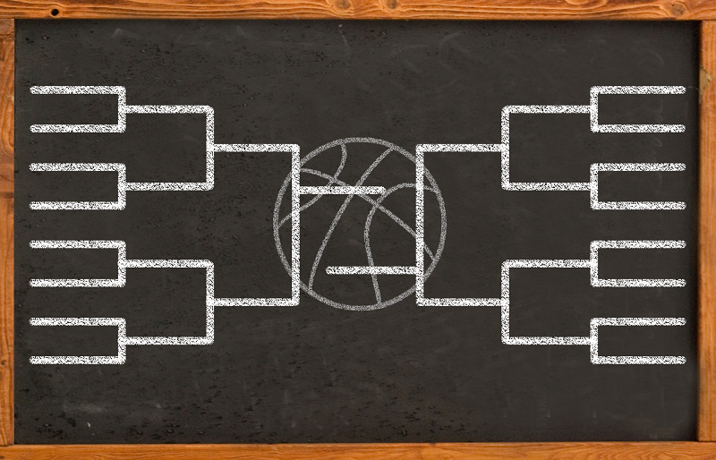 College basketball bracket analytics