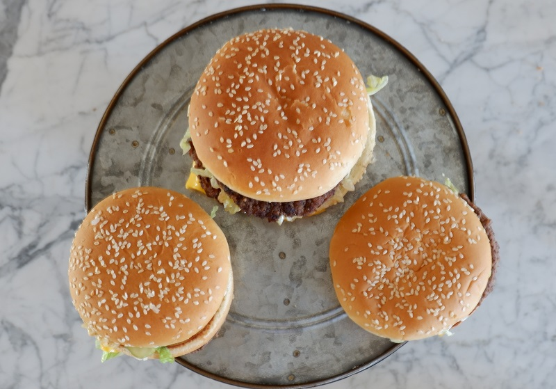 Mac Jr vs Big Mac vs Grand Mac