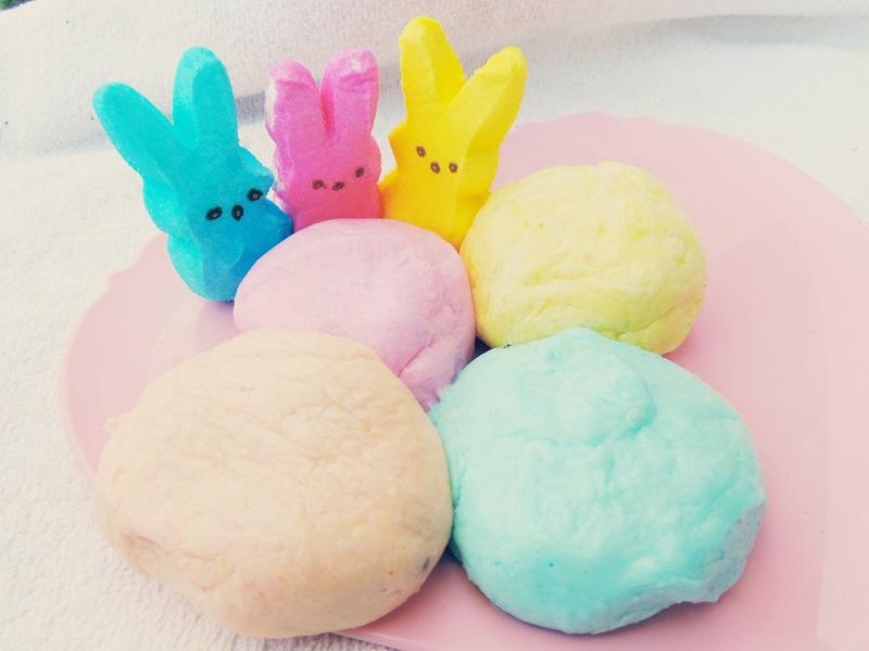 how to make peeps play dough