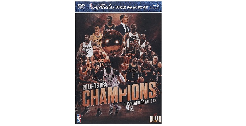 Cleveland NBA champion DVD