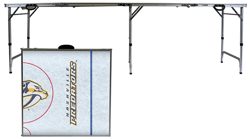 Nashville Predators tailgating table