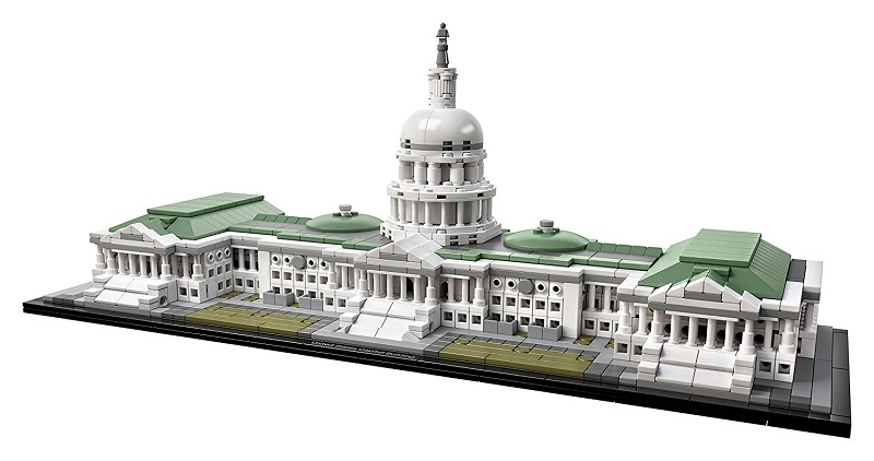 lego architecture sets building adults legos capitol kit than