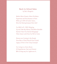 Bens Bargains Poetweet Twitter Poem