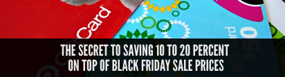 Save 20% on Black Friday prices