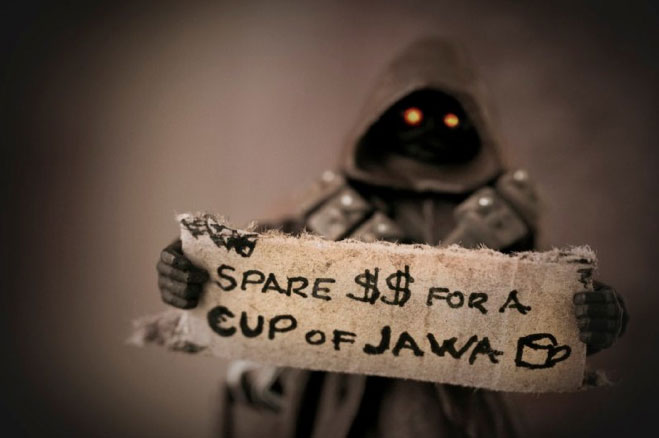 Star Wars Characters Dealing With A Recession