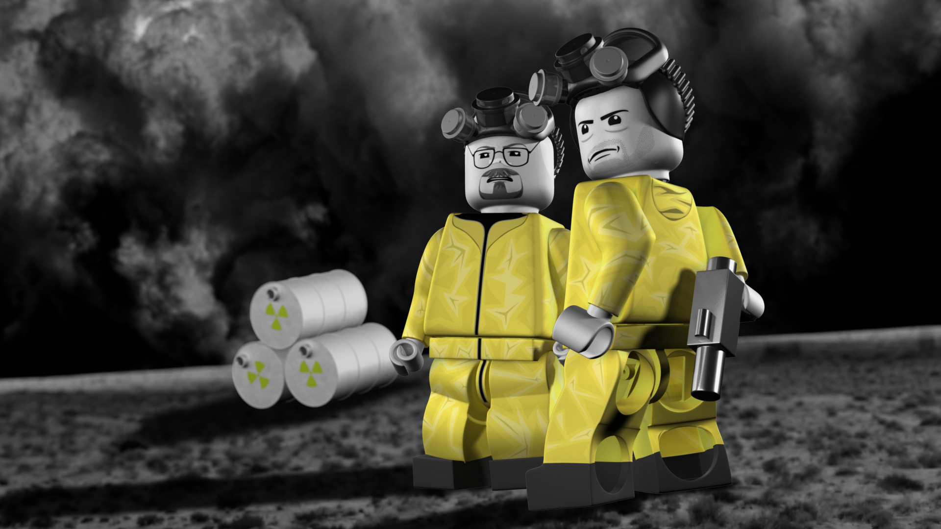 Animator Creates Incredible Lego Breaking Bad Video Game