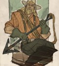 Justic League Aquaman in the old west