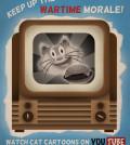 Watch cat cartoons on Youtube