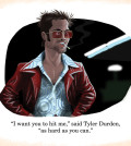Fight Club's Tylur Durden Scene