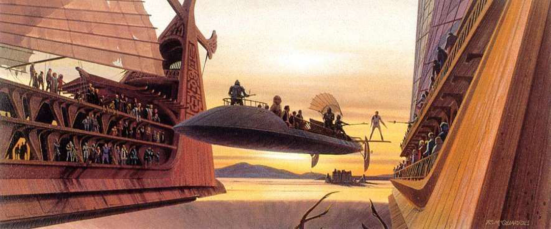Ralph Mcquarrie S Stunning Return Of The Jedi Concept Art
