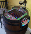Get Back in the Dorm with This Custom Sit-Down Donkey Kong Barrel