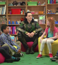 Loki Talks To Kids