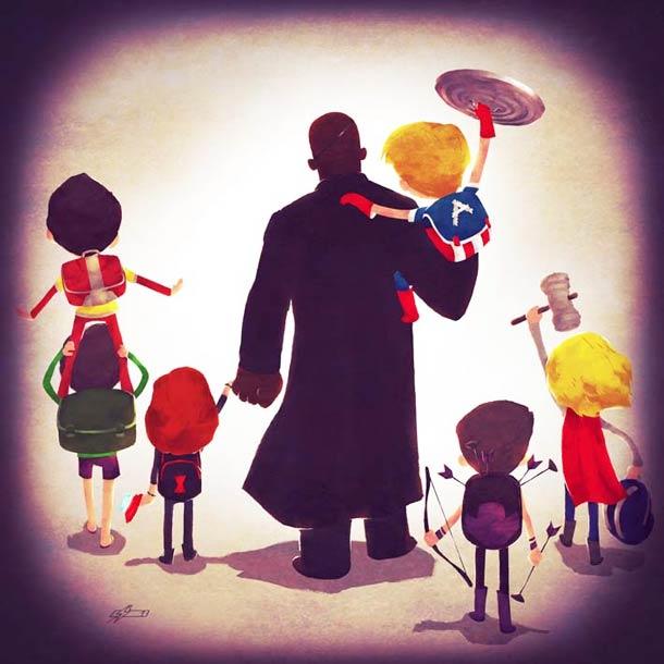 Marvel Super Families Series Will Unfreeze Your Jaded Nerd