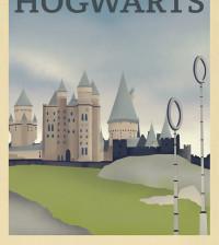 Harry Potter Hogwarts school of wizardy