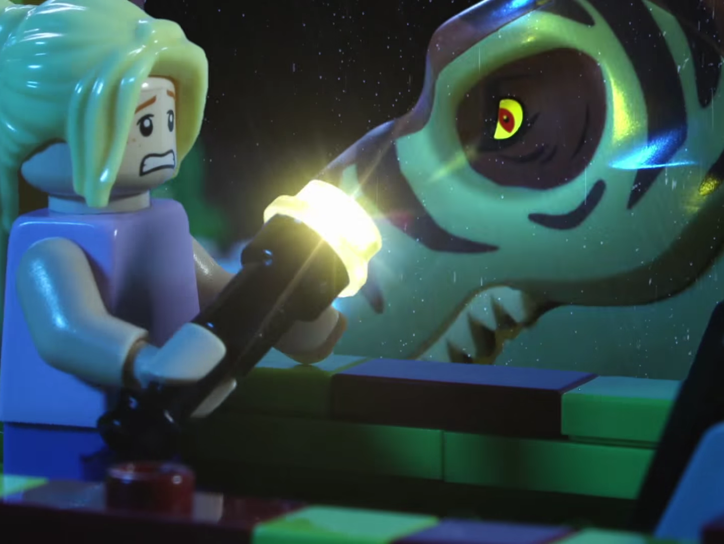 Lego Jurassic Park Stop Motion Uses 100 000 Worth Of Lego