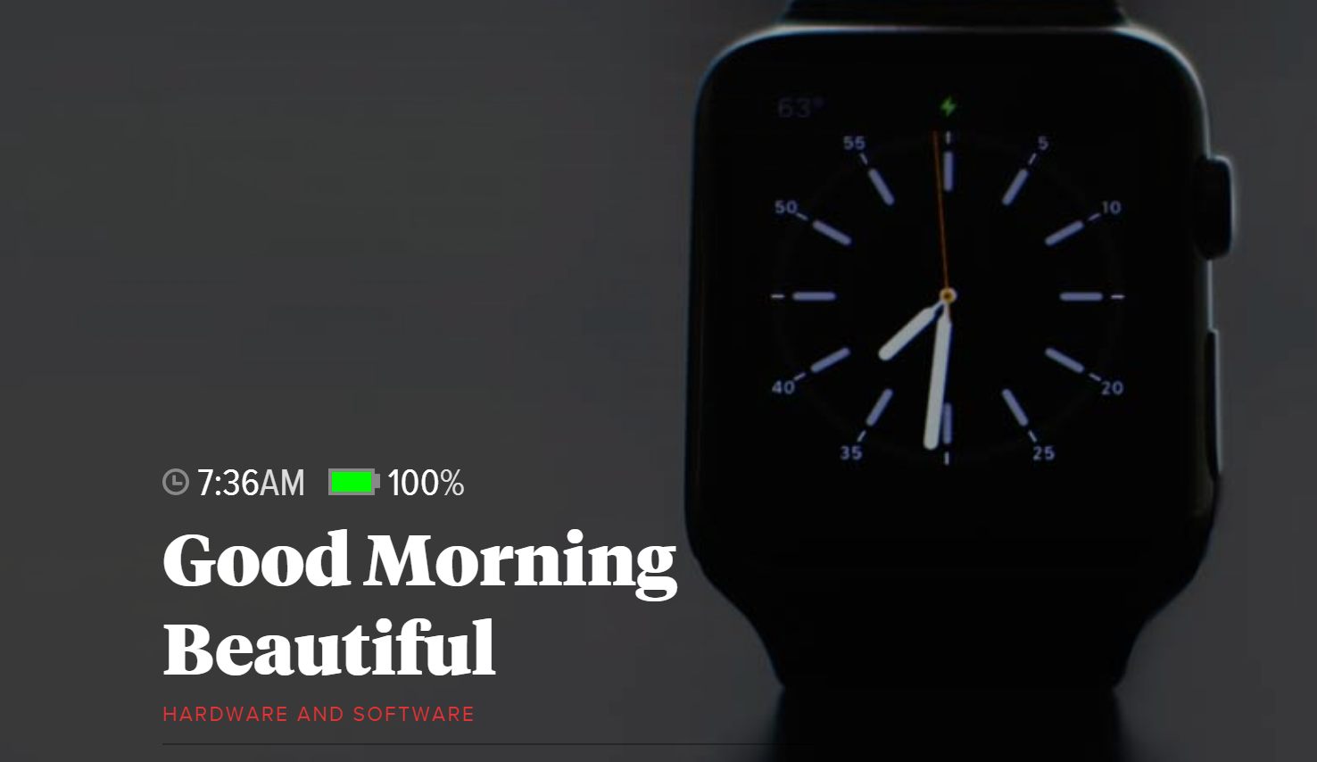 Apple Watch The Verge Review
