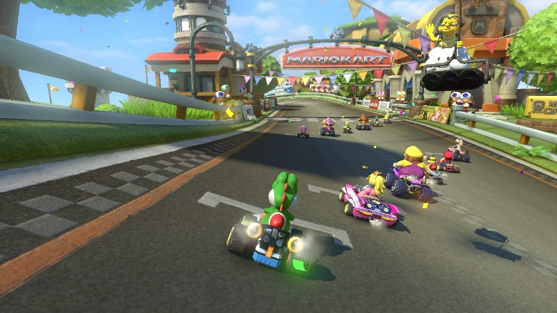Mario Kart 8 Starting Line Nintendo Rdies