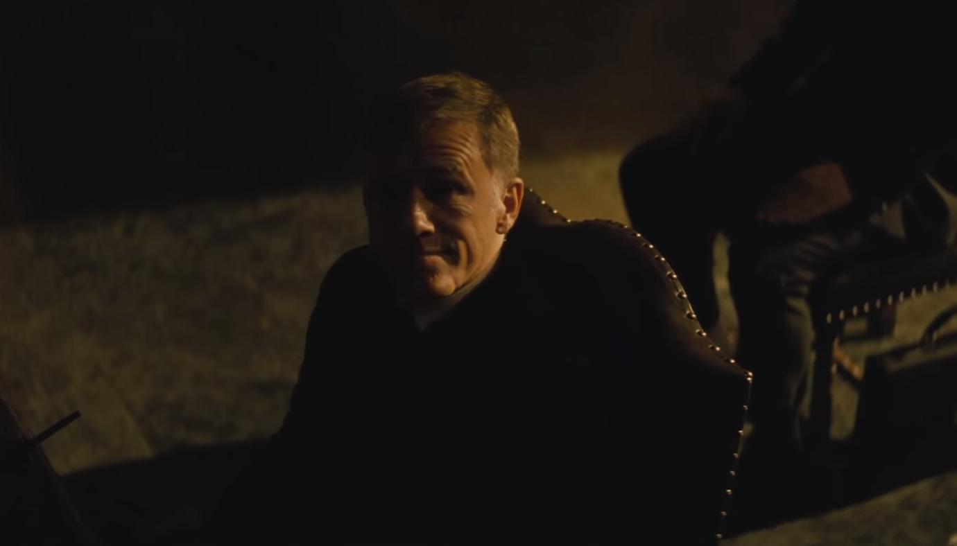 Christoph Waltz Spectre Trailer