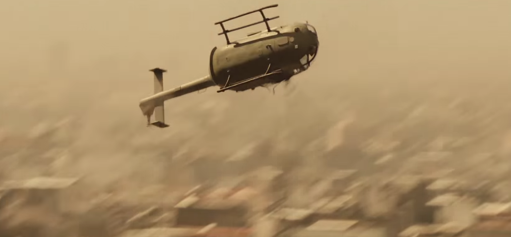 Helicopter Spectre Trailer