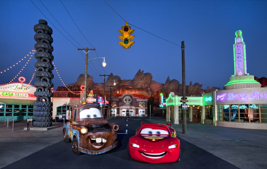 Cars Land Star Wars Lands Disneyland