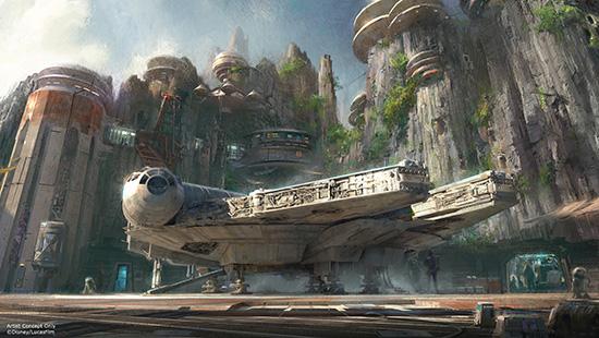 Disney World Star Wars Lands Disneyland