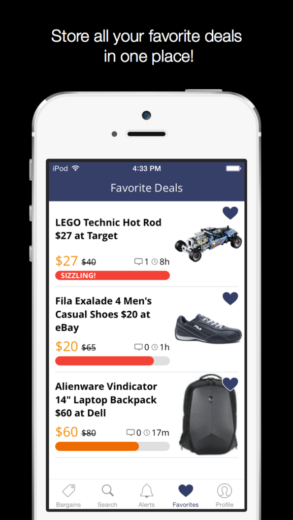 iOS Favorite Deals