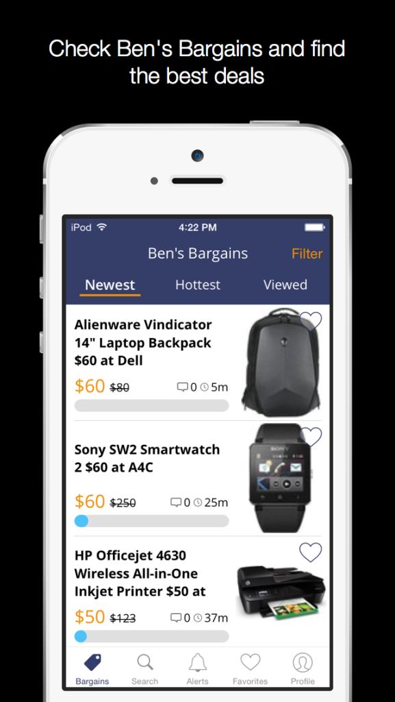 iOS Landing Page