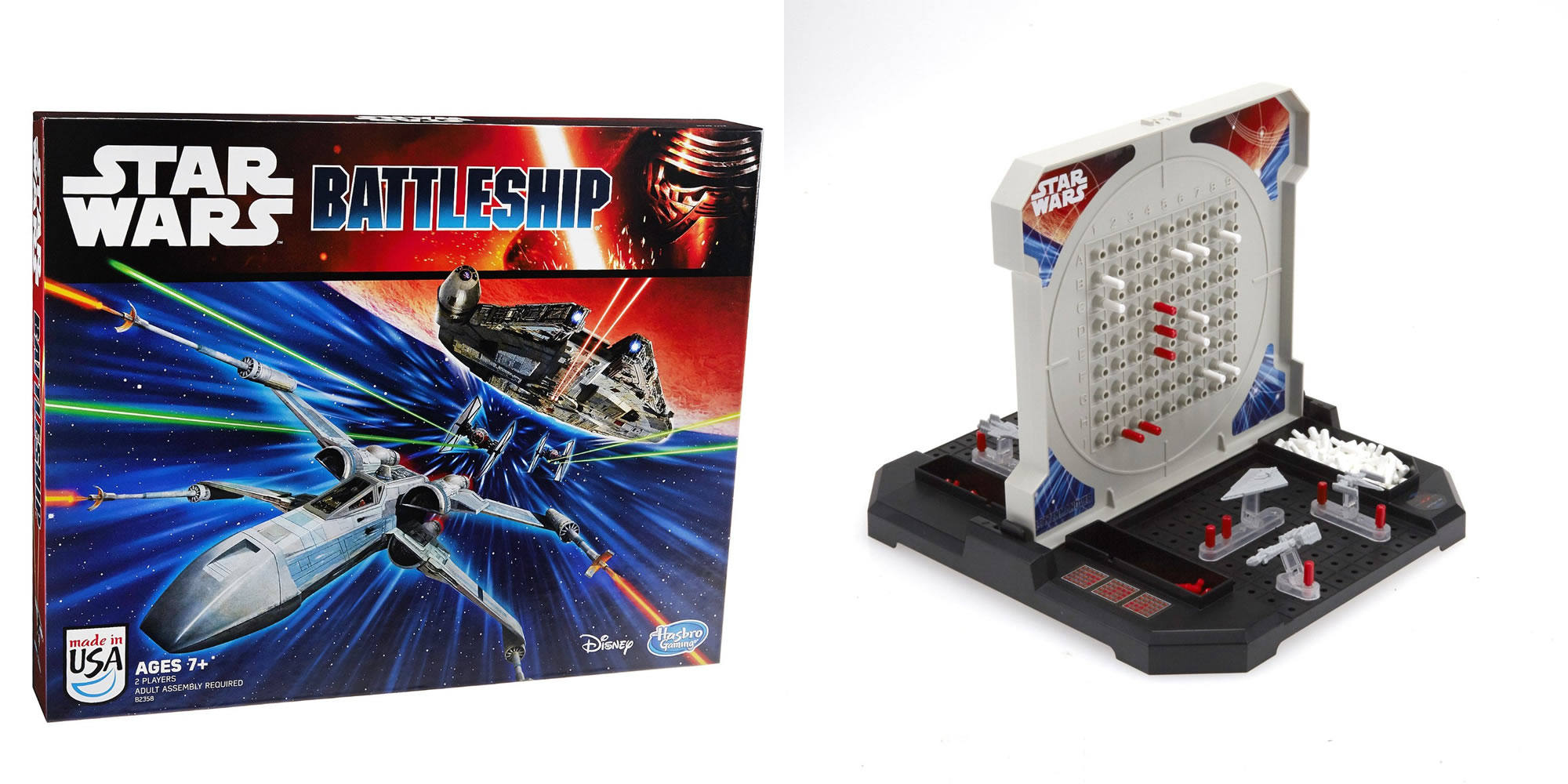 Star Wars Battleship Board Game Disney Hasbro 2016 for ...