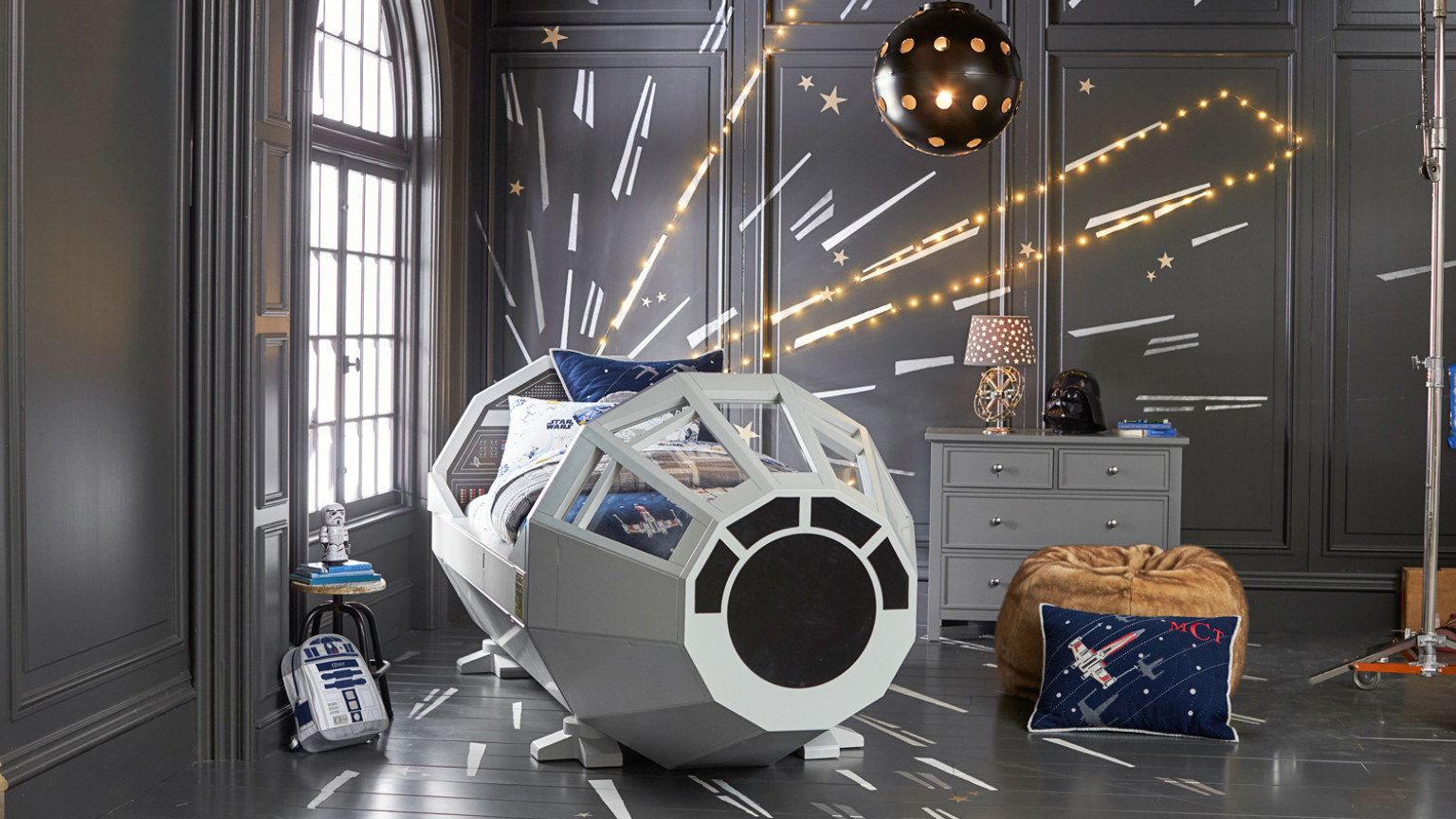 Star Wars Themed Room Paint