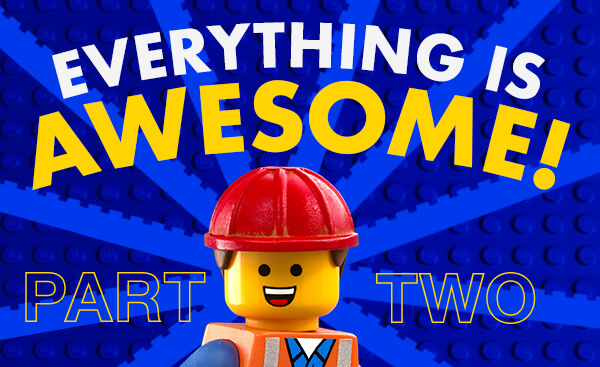 Everything is Awesome II: 10 More Fantastic Unofficial Lego Sets